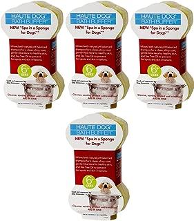 Spongeables Spa-In-a-Sponge Shampoo Infused Sponge for Dogs, 2.5oz (4 Sponges)