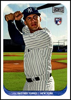 2018 Topps Archives Snapshots #AS-GT Gleyber Torres NM-MT RC New York Yankees Official MLB Baseball Card