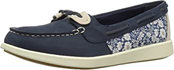 Sperry Womens Oasis Loft Liberty Fabric Boat Shoe