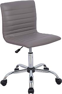 Awesome Amazon Com Grey Home Office Desk Chairs Home Office Creativecarmelina Interior Chair Design Creativecarmelinacom