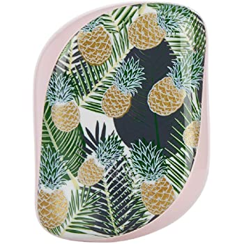 Tangle Teezer Compact Styler Detangling Hairbrush, Palms and Pineapples