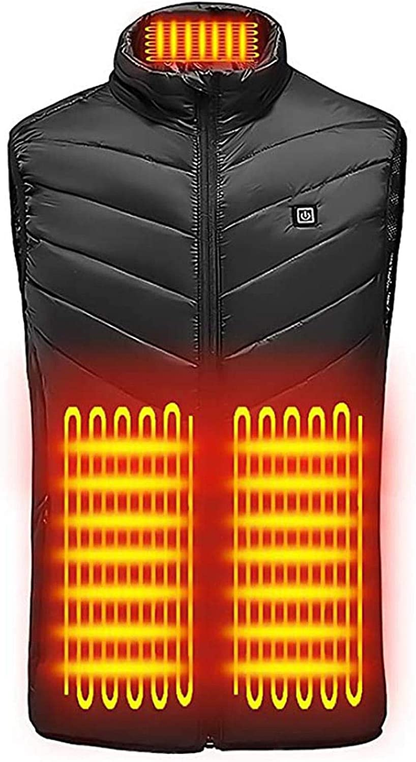 Evangelia.YM Unisex Heated Vest Coat Sect 9 Super 40% OFF Cheap Sale intense SALE Without Battery USB