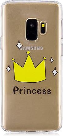 coque galaxy s9 plus silicone princesse