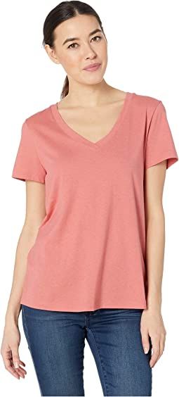 Sleep & Lounge Short Sleeve V-Neck Shirt
