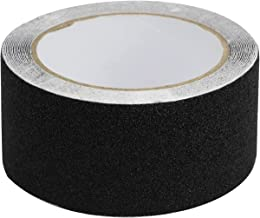 10 meter anti-slip plakband, antislip strips met zelfklevend, antislipband voor trappen treden vloerbedekking, zwart, 5 cm...