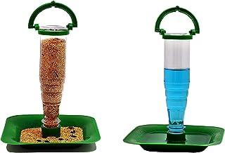 Ayushi Nano Bird Feeder Combo of Food and Water Feeder