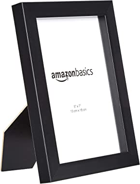 AmazonBasics Marco fotográfico, 2 paquetes, Negro, 12.7 cm X 17.8 cm