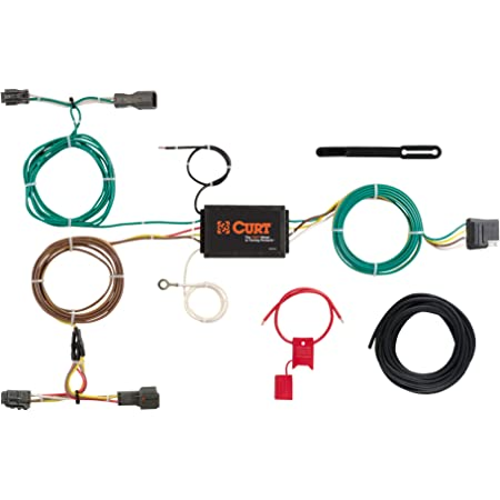 amazon.com: curt 56256 vehicle-side custom 4-pin trailer wiring harness,  select kia sorento: automotive  amazon.com