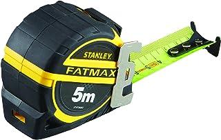 Stanley xtht0-36003 mesure 5m x 32 mm - Gamme Fatmax - Revêtement mylar Anti-Abrasion et Anti-Corrosion - Crochet 3 Rivets...