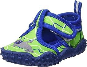 Playshoes Unisex Kid's gebreide strandschoenen met UV-bescherming waterschoenen