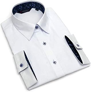 ブリックハウス シャツ ブラウス 七分袖 形態安定 レギュラー衿 透け防止 レディース ウィメンズ BL019303AB24R1S-10