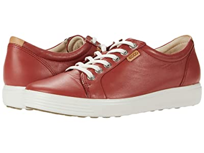 ECCO Soft 7 Sneaker (Marsala Cow Leather) Women