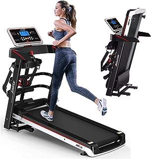 GymPerfectPro Caminadora Eléctrica Plegable 2.0 HP Gym A6s con masajeador y Dos Mancuernas