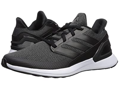 adidas Kids RapidaRun (Big Kid) (Black/Carbon/White) Boys Shoes
