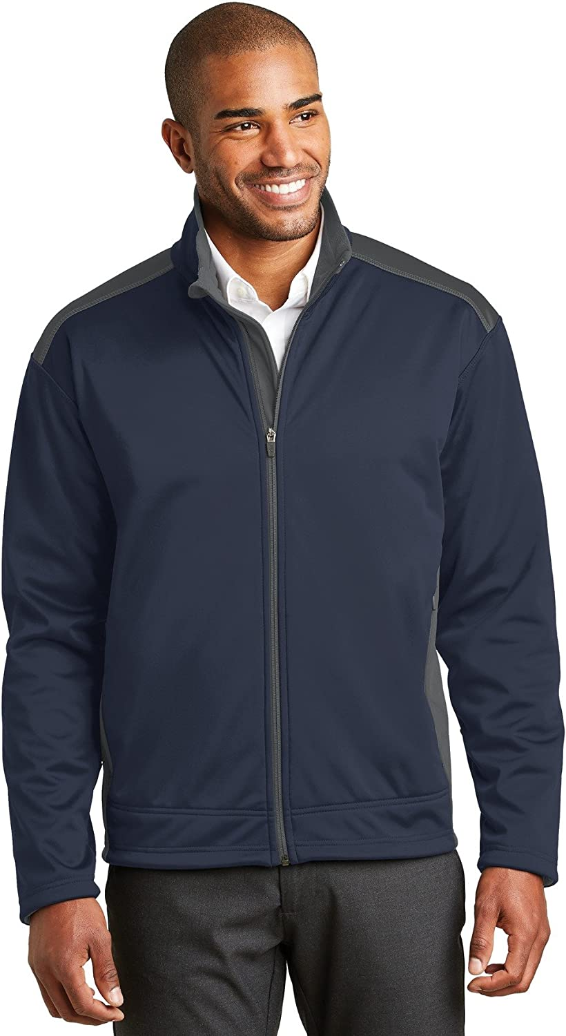 Port Authority Men's Two-Tone Soft Shell Jacket in Your Choice of Colors