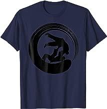 Zen Calligraphy Buddhist Aikido Enso Circle T-Shirt