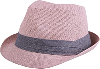 166bd093a Amazon.com: Pinks - Fedoras / Hats & Caps: Clothing, Shoes & Jewelry