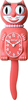 """Kit Cat Klock Limited Edition Lady, Living Coral, Original size 15.5"""""""
