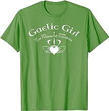 Gaelic Girl Gra Dilseacht Cairdeas T-shirt