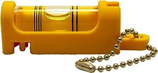 アカツキ製作所 (Kod) 携帯気泡管水平器 水平くんプラス ボディ:黄 気泡管:黄 SU-YY