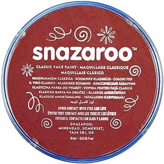 Snazaroo, Burgundy Classic Face Paint, 18ml