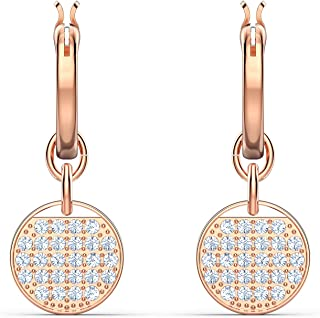 SWAROVSKI Women's Ginger Jewelry Collection, Rose Gold Tone Finish, Clear Crystals