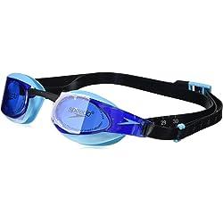 Speedo Elite GOG Au Black/Blue Gafas de natación, Adultos Unisex