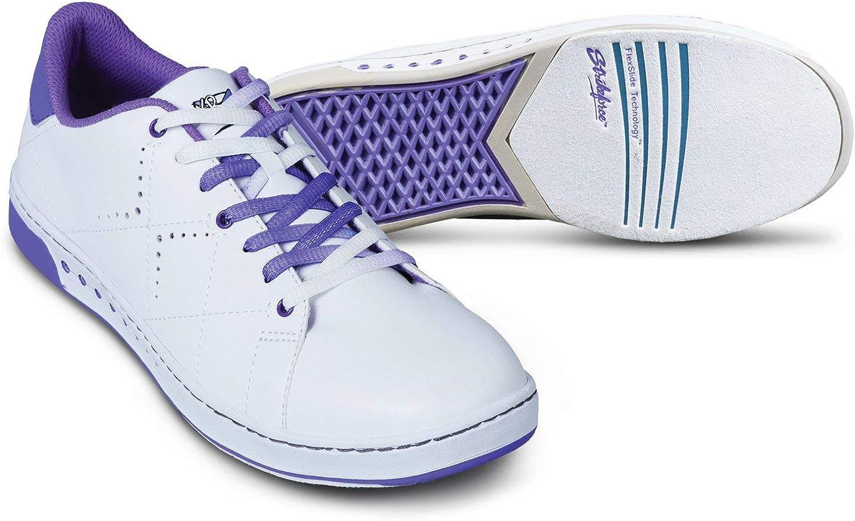 KR Strikeforce Womens Gem Bowling shoes- White Purple