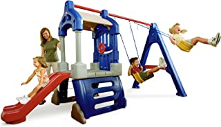 little tikes treehouse swing set toys r us