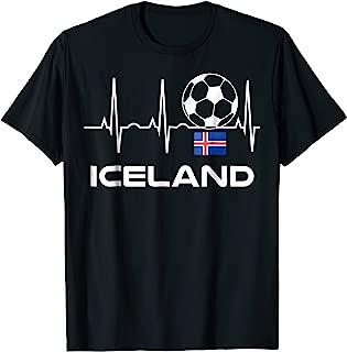 Iceland Soccer Jersey 2018 Shirt Icelandic Fotbolti Tee