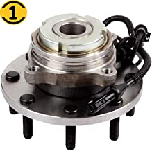 Front Wheel Hub Bearing Assembly Fit 1999 2000 2001 2002 2003 2004 Ford F-250 F-350 F-450 F-550 Super Duty Hub Bearing w/ABS 8 Lugs, 2WD RWD, Replace 515100