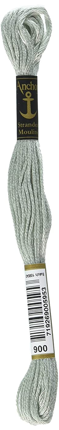 Anchor Six Strand Embroidery Floss 8.75 Yards-Pewter Light 12 per Box