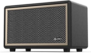 ZAKK Woodstock I Retro Wireless Bluetooth Speaker, HD 24W Stereo Sound with Extended Bass and Treble, Subwoofer, Knob for ...