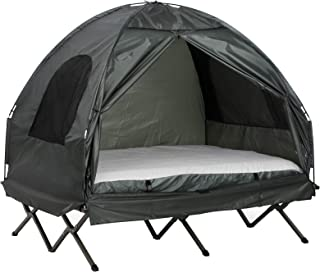 Outsunny Compact Pop Up Portable Folding Outdoor Elevated...