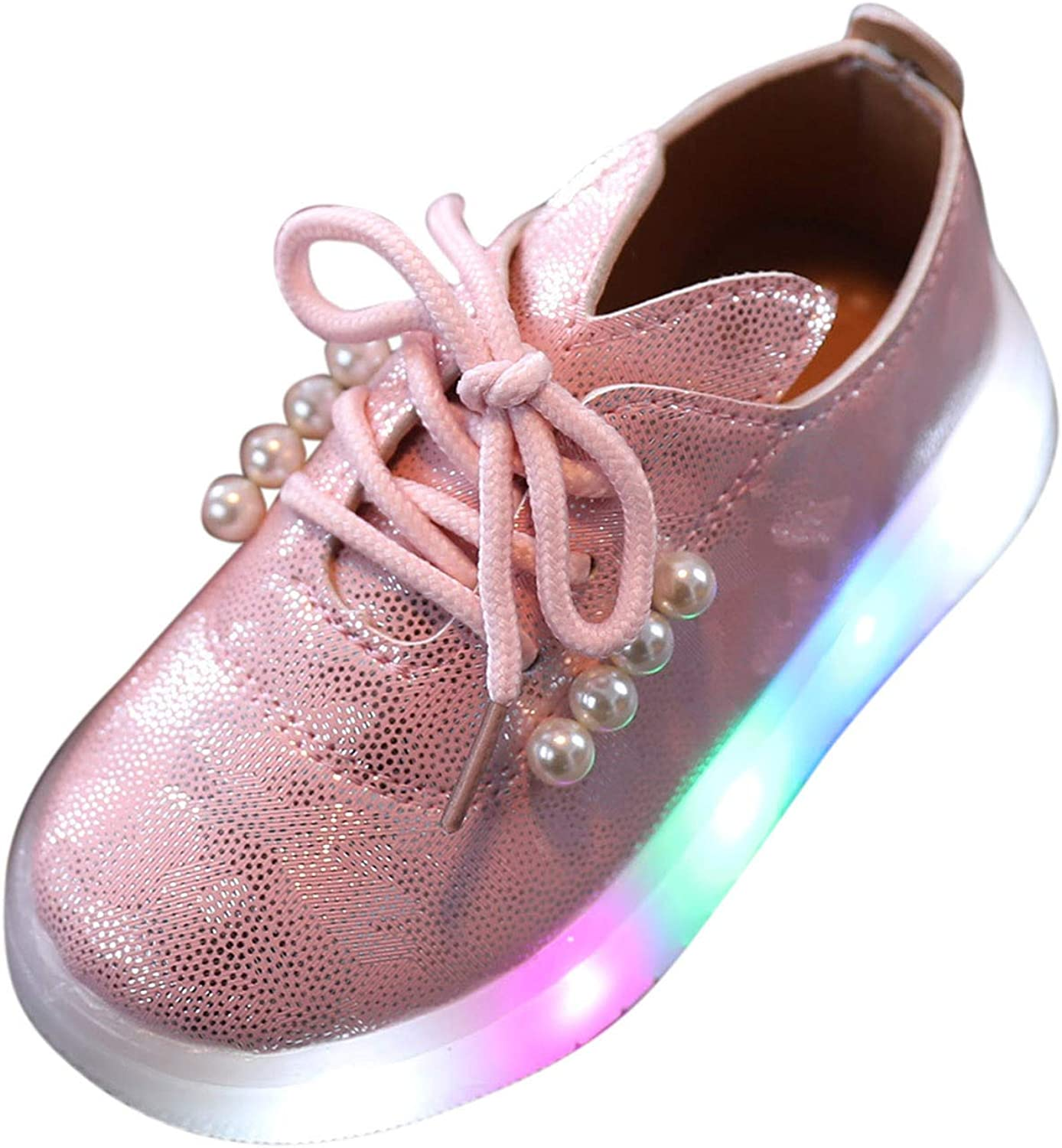 Ranking TOP15 USYFAKGH Kids Light Up Max 89% OFF LED Shoes Girls and Boys for