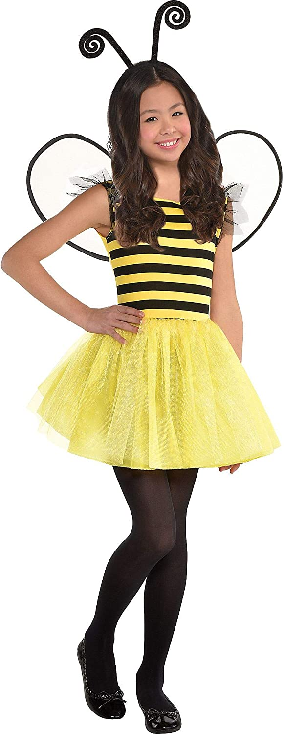 amscan Buzzy Finally resale start Bee Kids Costume gift Set- Large 12‑14 Multicolo