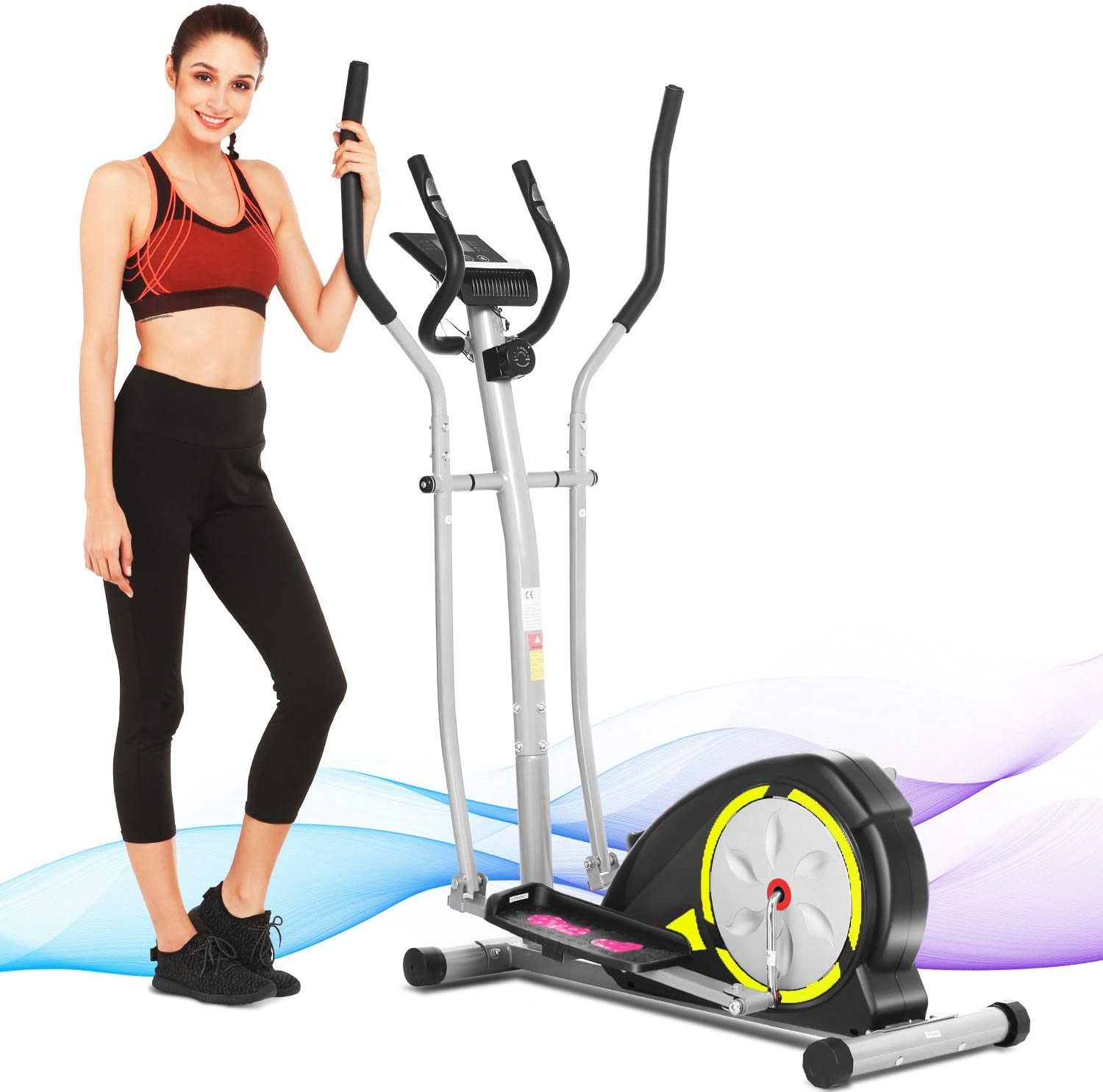 ANCHHER OFFicial Surprise price site Elliptical Machine Training Compact Equipmen