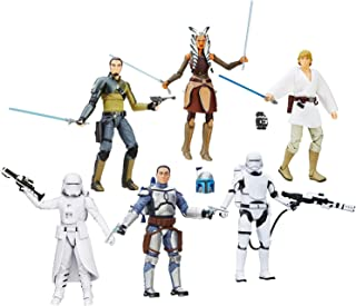 Star Wars TFA Black Series 6-inch Action Figures Wave 2 Revision 1 Toy Set of 6