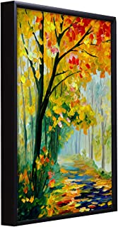 Painting Mantra Beautiful Autumn Floral Theme 1 Framed Canvas Painting Art Print - 13x17 Inchs