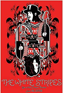 by COOLEST Concert The White Stripes Moore Theater 12 x 12 inch Poster Rolled