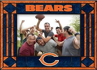 Chicago Bears Art Glass Horizontal Frame