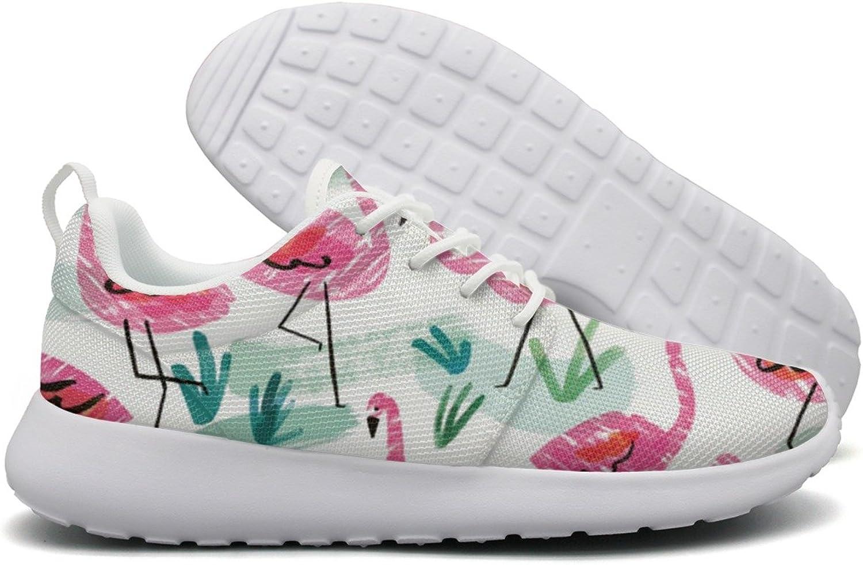 Flamingo Drawings Womens Flex Mesh Womens Running shoes