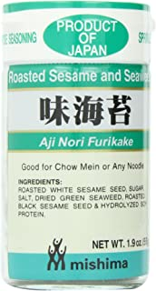 Shirakiku Furikake Aji Nori, 1.9-Ounce Units (Pack of 10)