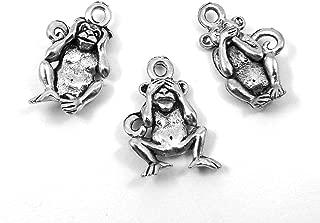 Best 3 wise monkeys silver Reviews