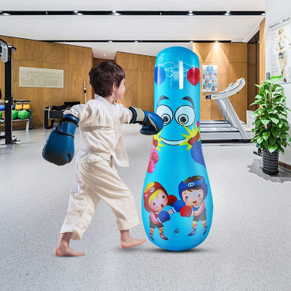Mesa Mall SUNSHINEMALL Inflatable Punching Tower Column Direct sale of manufacturer Tumbler Bag Boxing