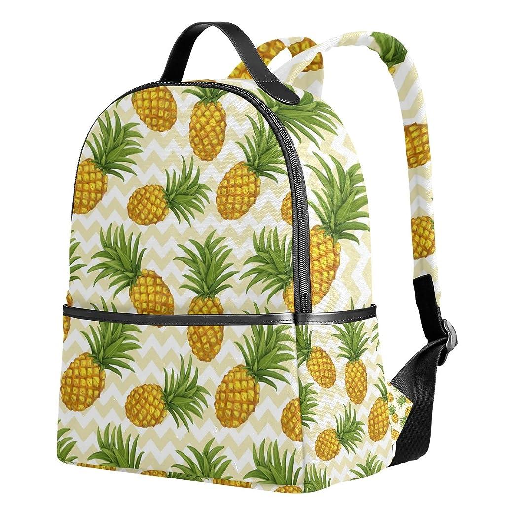 ピニオンキネマティクス本質的にマキク(MAKIKU) リュック レディース おしゃれ 軽量 大容量 通学 通勤 旅行 プレゼント対応 パイナップル 果物