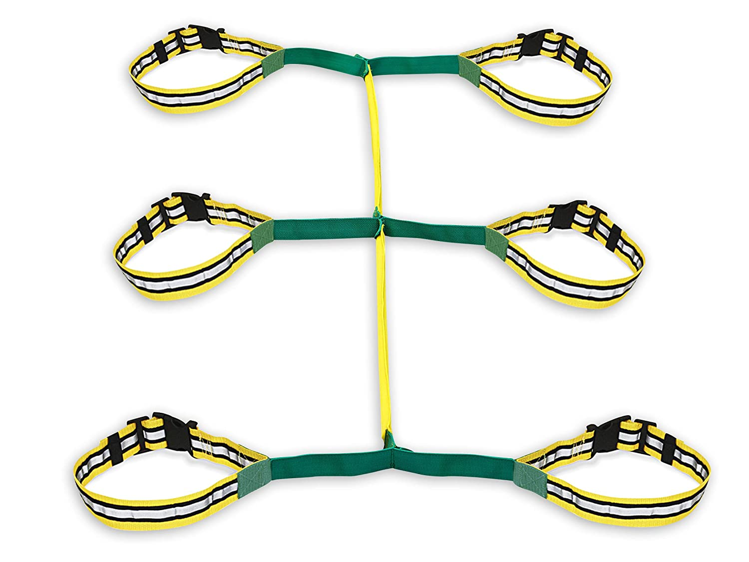 Walkodile Safety Web (6 Child), Childrens Walking Rope. Teacher Designed, Daycare Walking Leash. Also Includes Free Learning Games for Walks Guide