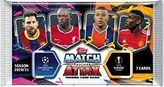 Match Attax 2020-21 Topps Champions League Card