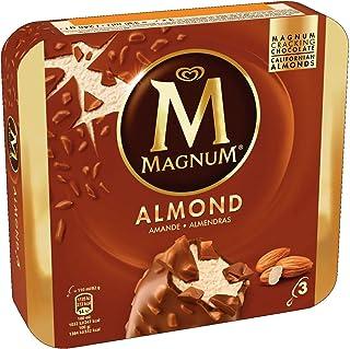 Magnum Almond Multipack Ice Cream Stick, 110ml (Pack of 3) - Frozen