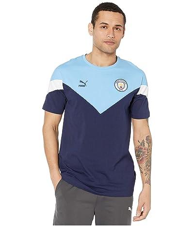 PUMA Manchester City FC Iconic MCS Tee (Peacoat) Men